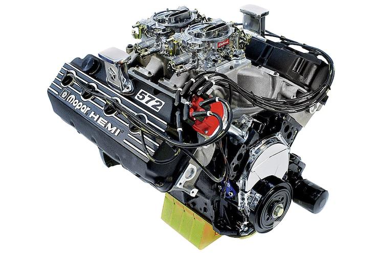 History Hemi V8 Engine 572