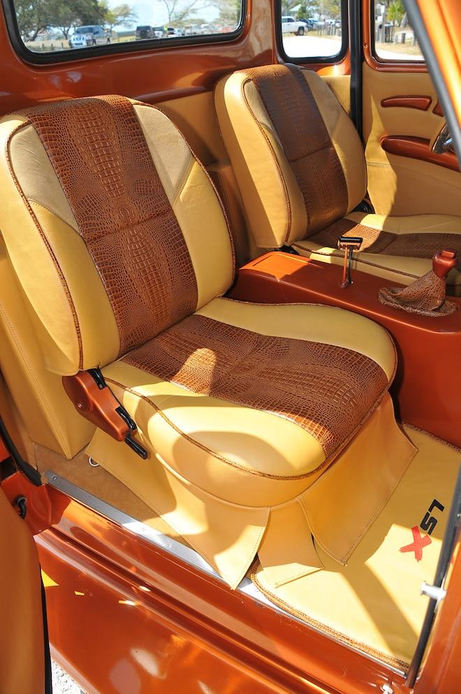 1950 Chevy 3100 The Boss Interior