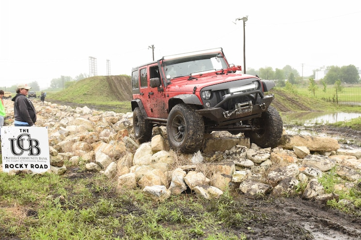 2017 Jeep Blitz Obstacle Course Rock Road