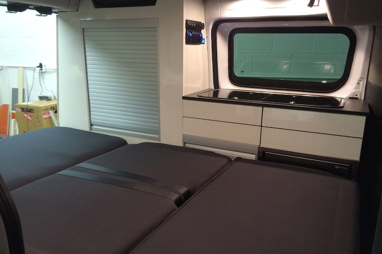 Recon Campers Nissan Nv 200 Van Conversion Interior Bed
