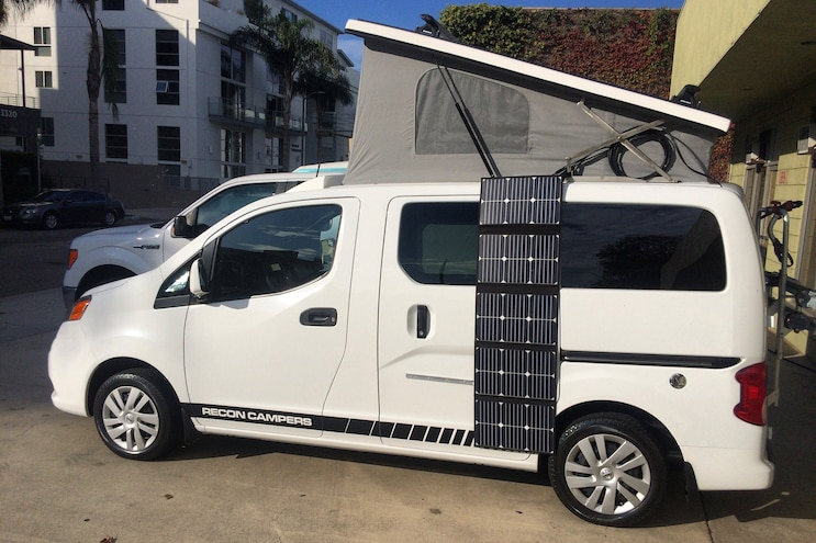 Recon Campers Nissan Nv 200 Van Conversion Solar Power