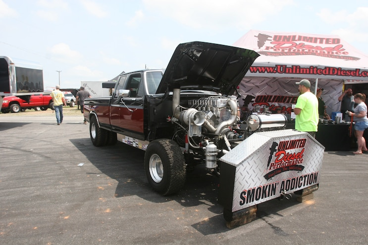 Rudys Season Opener 2017 Pulling Truck Midway