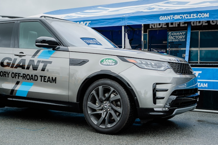 Giant Teams Up With Land Rover