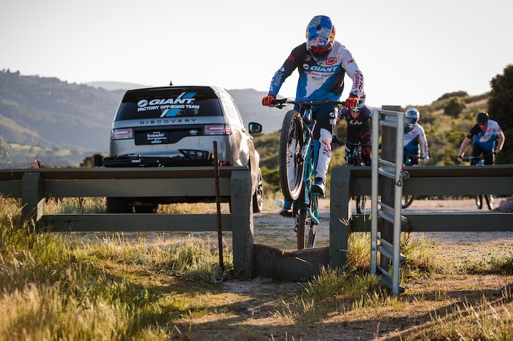 Giant Teams Up With Land Rover Bike Jump
