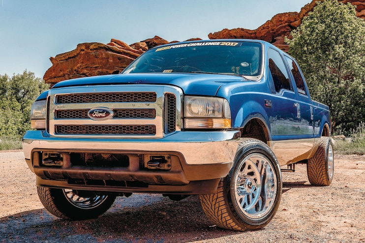 2004 Ford F-250: Diesel Power Challenge competitor Charlie Keeter