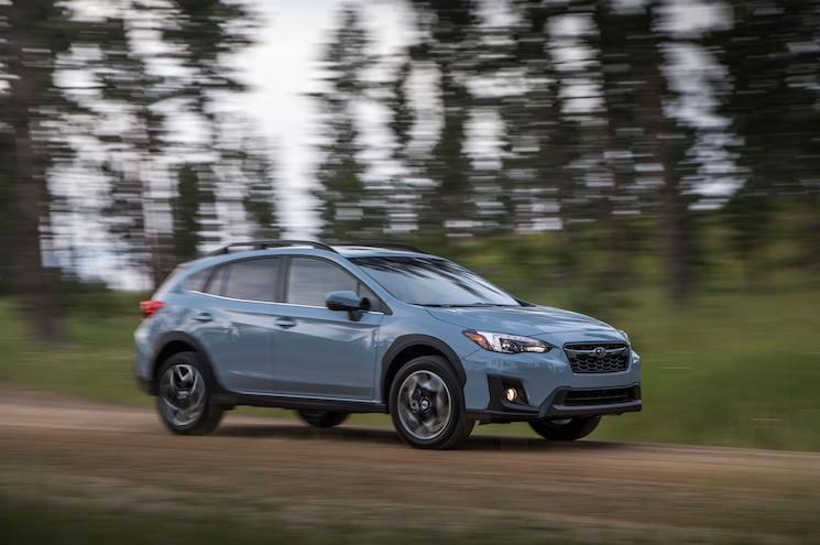 2018 Subaru Crosstrek Exterior Front Quarter 08