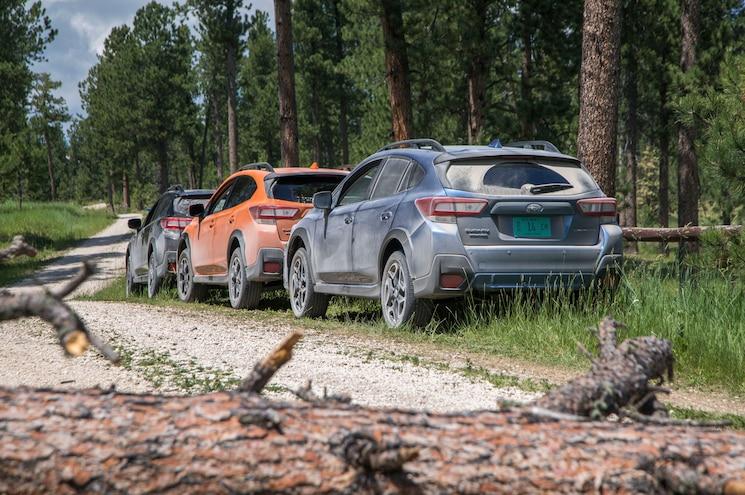 2018 Subaru Crosstrek Exterior Rear Quarter Off Road 03