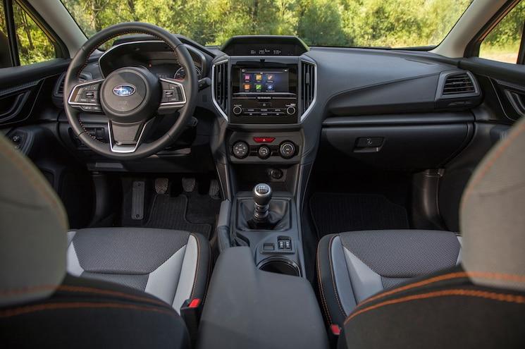 2018 Subaru Crosstrek Interior Dashboard 01