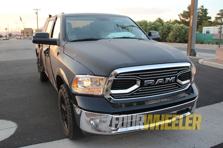 2019 Ram 1500 Rebel Front Fasciat