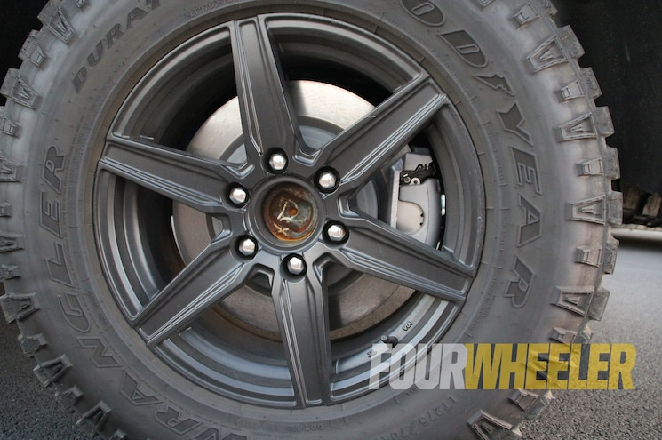 2019 Ram 1500 Rebel Wheel Detail