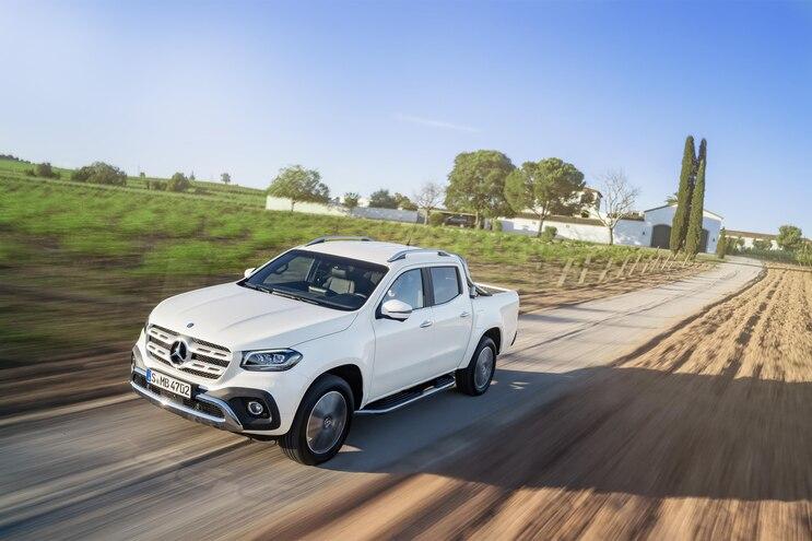 Mercedes-Benz Reveals Production 2018 X-Class Pickup