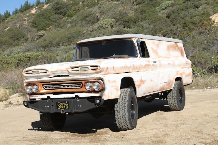 1960 Chevy Suburban Meets New-School Diesel Performance