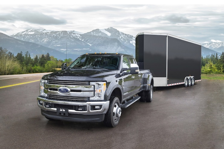 2017 Ford F350- Leveling the Load