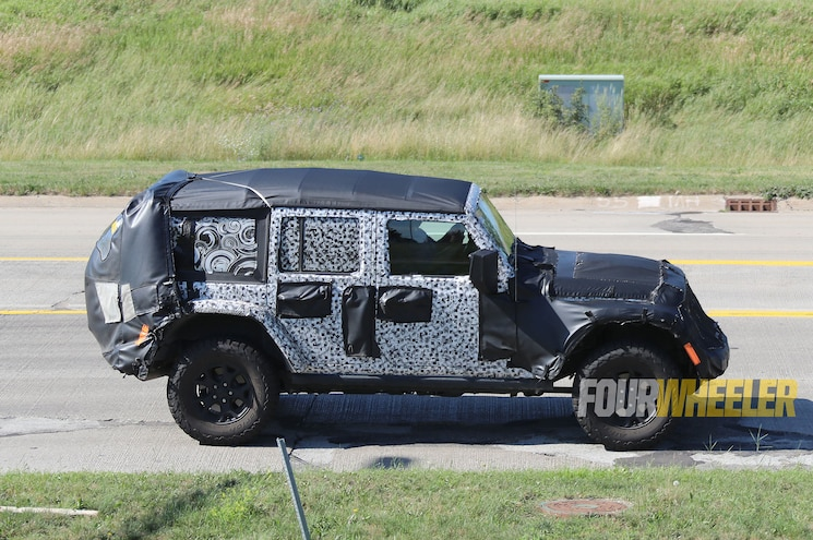 2018 Jeep Wrangler Soft Top Side