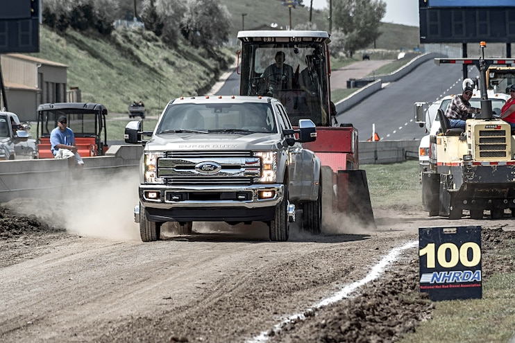 Truck Trend's 1-Ton Challenge: Sled Pull