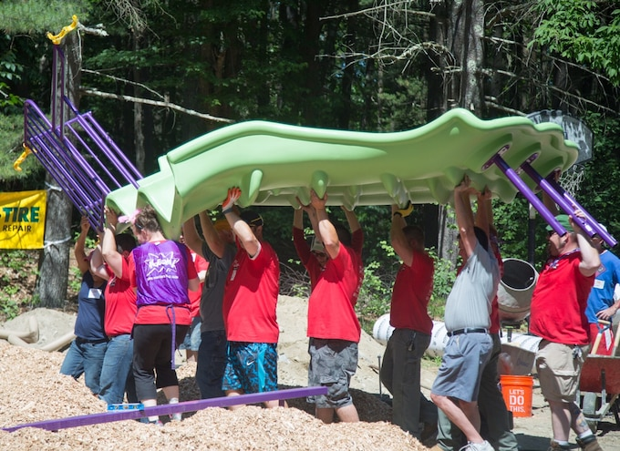 Yokohama and KaBOOM! to Build New Playground in West Point, MS