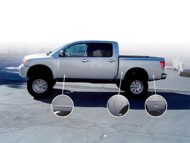 Shaving A Nissan Titan Custom Body Modifications Plastic Molding Sport Truck Magazine