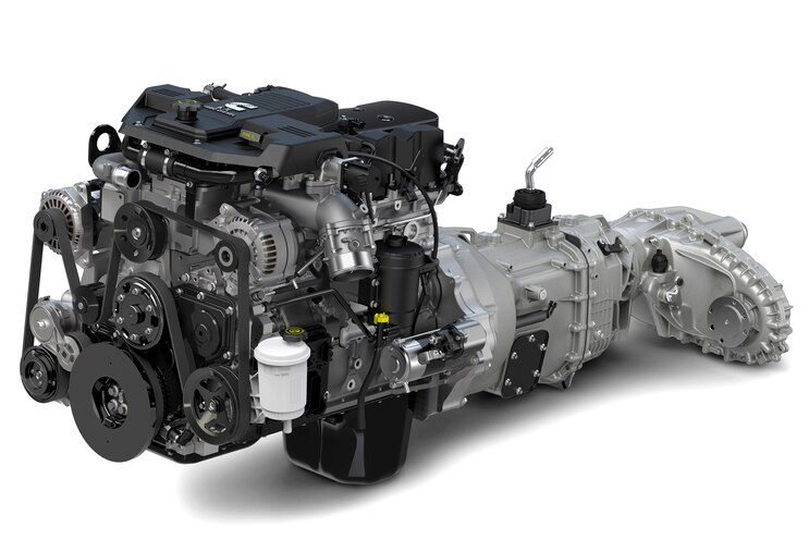 Auto News 8 Lug Work Truck Cummins Diesel Electrification