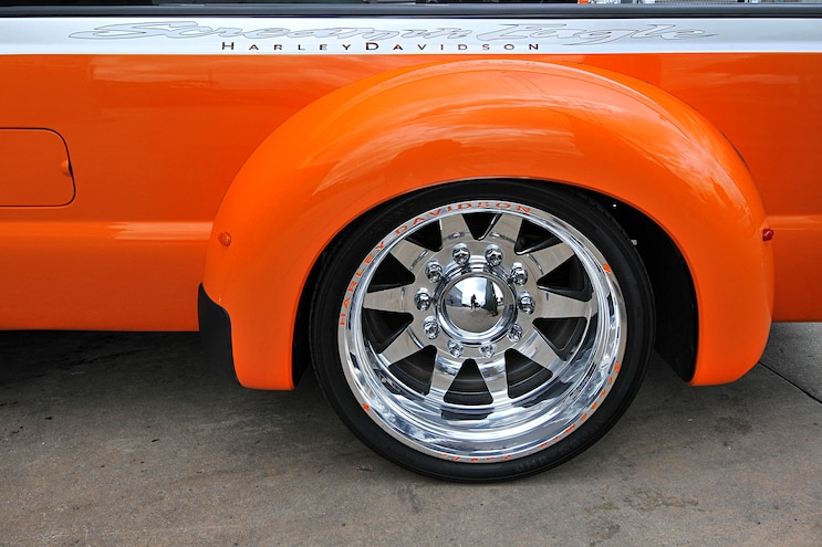 F350 Harley Paez Rear Wheel