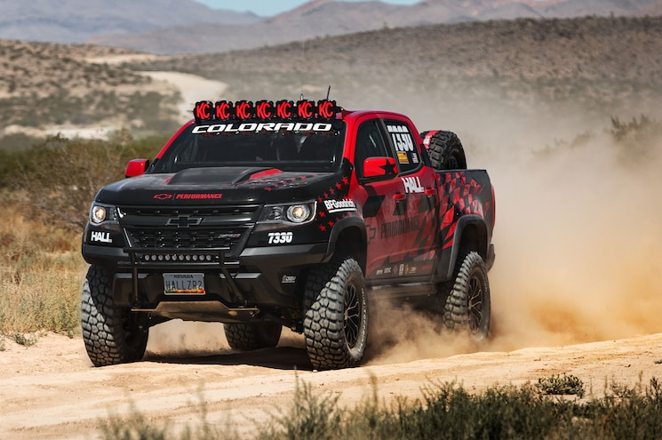 Ride Along: Chevrolet Colorado ZR2 Makes Competition Debut at Vegas to Reno
