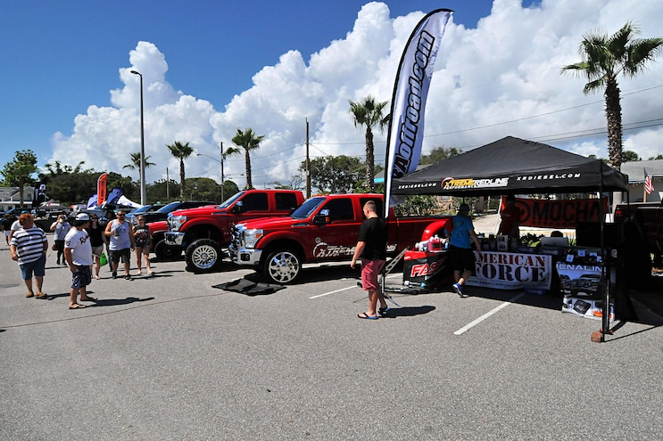Daytona 2017 Truck Meet Lined Up