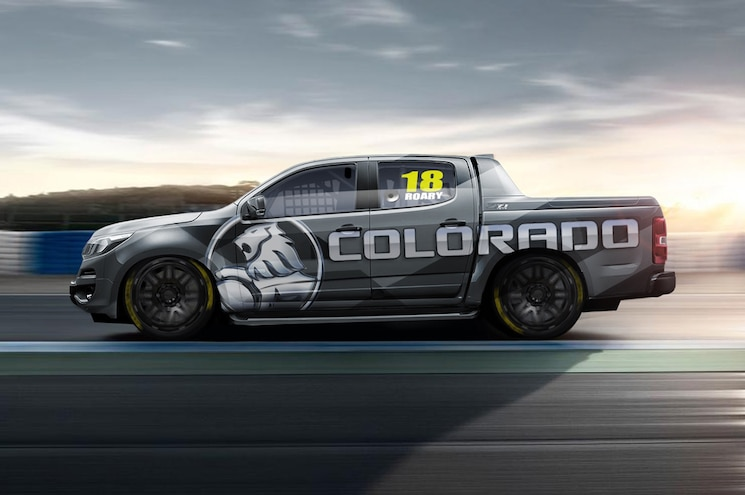 Holden Brand Goes Racing with Turbodiesel, Rear-Drive Colorado Pickup