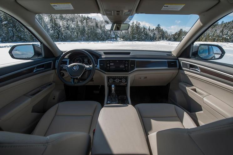 First Drive 2018 Volkswagen Atlas Interior
