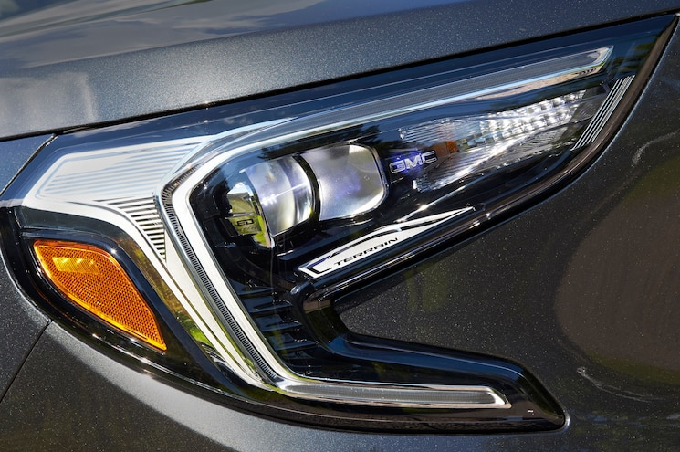 2018 Gmc Terrain Denali Exterior Front Headlight