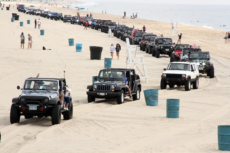 Ocean City Jeep Week 2017