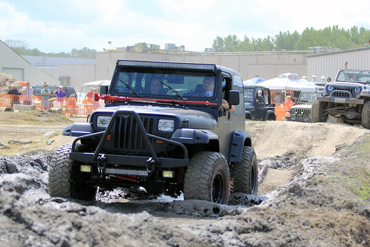 OCJeepWeek Jeep Jam Mudding