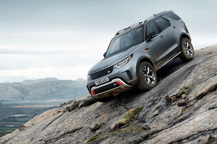 First Look — Land Rover Discovery SVX Makes Official Debut in Frankfurt