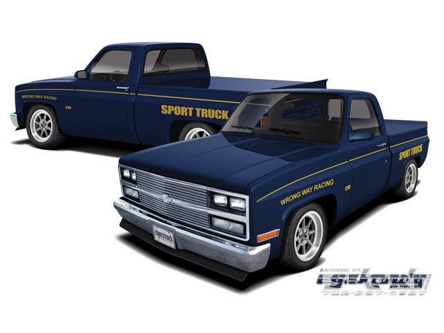 1973 Chevy C10 Parts Racer Drawing Board Photo Image Gallery