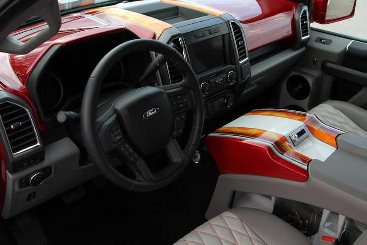 2016 Ford F150 Ekstensively LOW Interior Dash