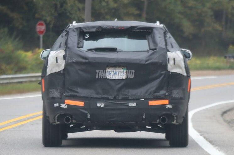2019 Chevrolet Blazer Rear View