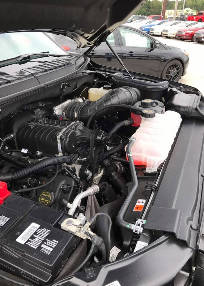 2017 Ford F 150 Xl Lightning Tribute Engine