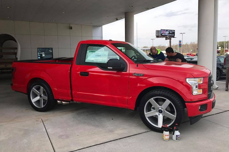 2017 Ford F 150 Xl Lightning Tribute Red