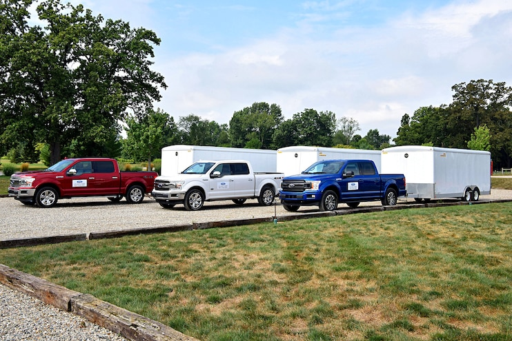 2018 Ford F150 First Drive Options