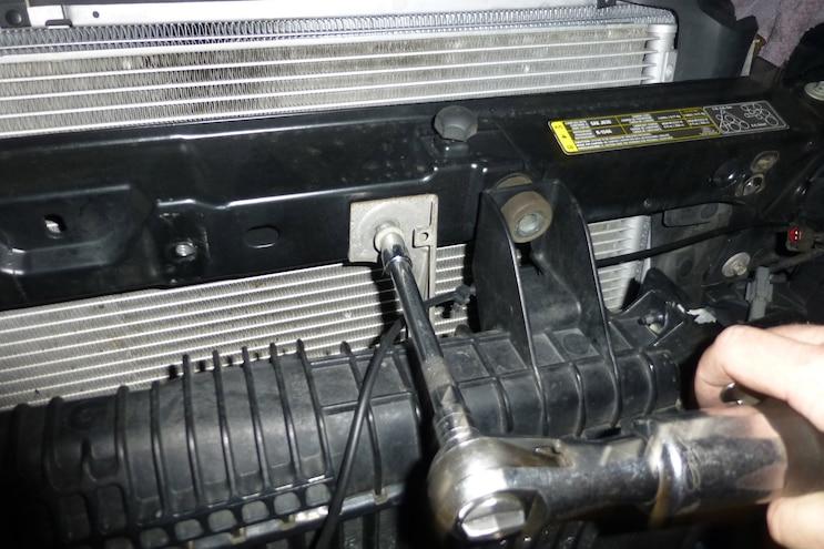 010 Mishimoto Power Stroke Upper Support Bar Installation