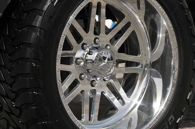 Lady Liberty 2015 Gmc Sierra 2500HD Denali Wheel