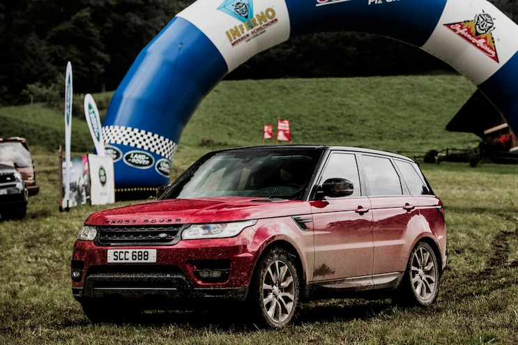 2018 Land Rover Range Rover Sport Front Driver Side Static