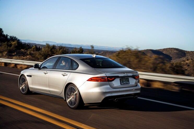 2018 Jaguar Xf Rear Driver Side Motion