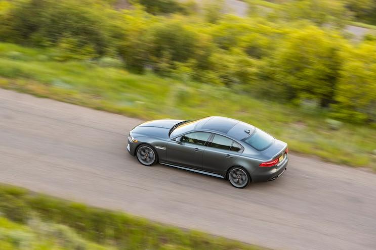 2018 Jaguar Xe Rear Driver Side Motion