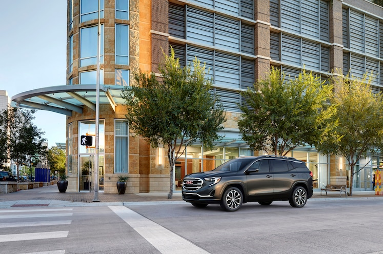 2018 Gmc Terrain Front Driver Side Static