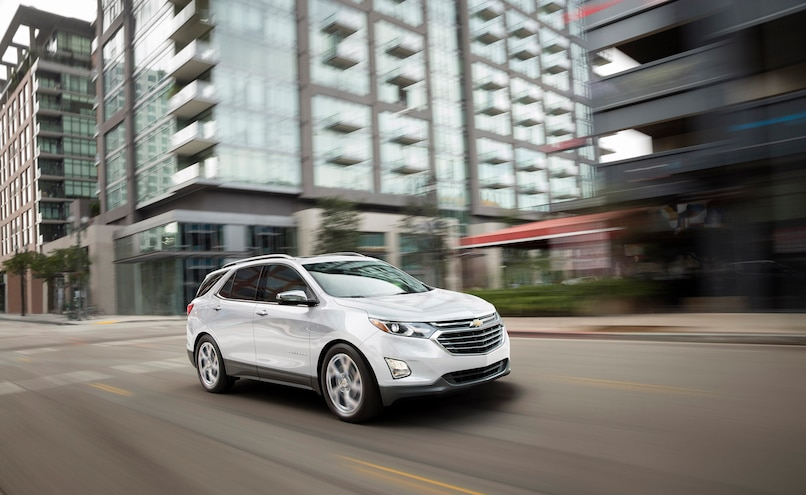2018 Chevrolet Equinox Front Passenger Side Motion