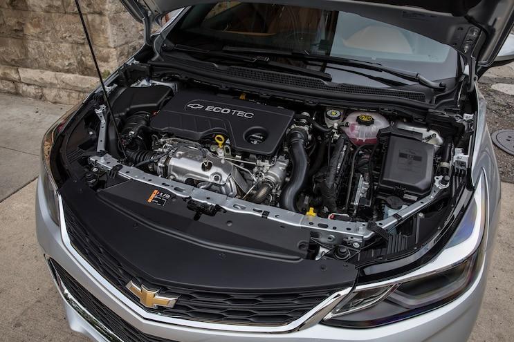 007 2018 Chevrolet Cruze Engine Bay