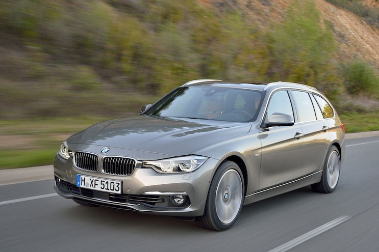 2016 Bmw 3 Series Wagon Front Driver Side Motion
