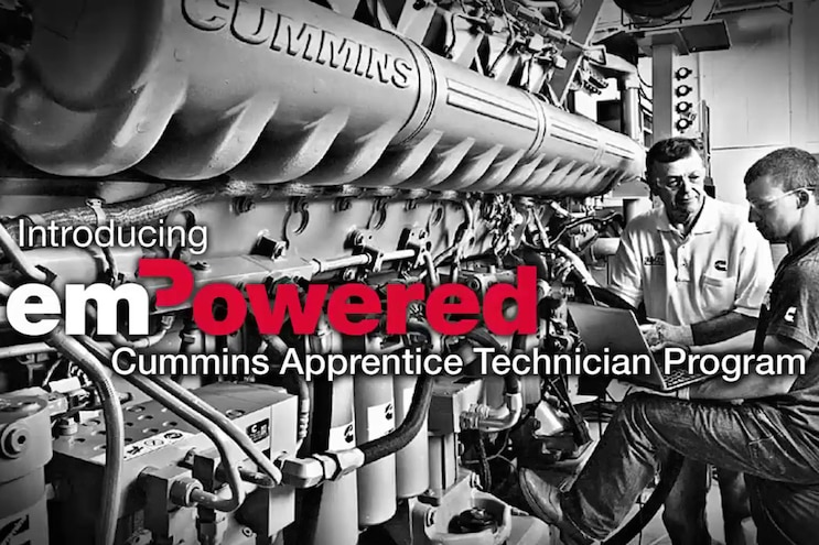 Auto News 8 Lug Work Truck Cummins Vincennes Technician Apprentice