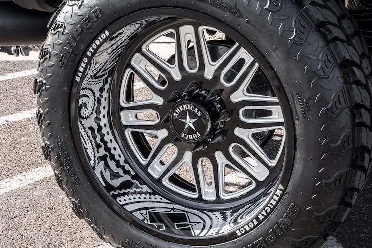 2017 Ford F 250 Aluminati Wheel