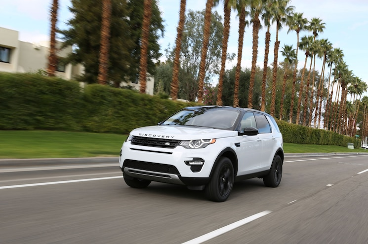 2018 Land Rover Discovery Sport Driving Palms