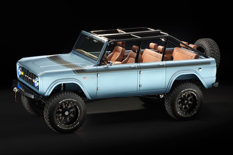 1966 Ford Bronco Four Door Modern Classic Heads to SEMA – #TENSEMA17
